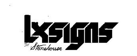 LXSIGNS BY STONEHOUSE