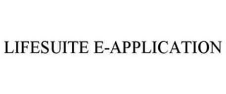 LIFESUITE E-APPLICATION