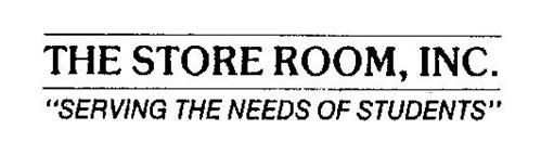 """THE STORE ROOM, INC. """"SERVING THE NEEDS OF STUDENTS"""""""