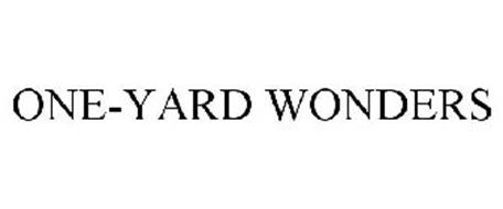ONE-YARD WONDERS