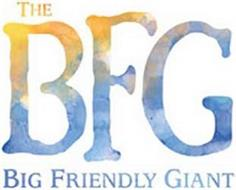 THE BFG BIG FRIENDLY GIANT
