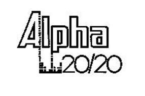 ALPHA 20/20