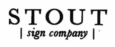 STOUT SIGN COMPANY