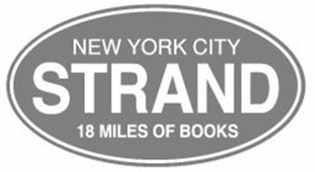 STRAND NEW YORK CITY 18 MILES OF BOOKS