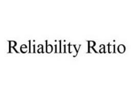 RELIABILITY RATIO