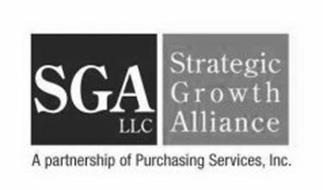 SGA LLC STRATEGIC GROWTH ALLIANCE A PARTNERSHIP OF PURCHASING SERVICES, INC
