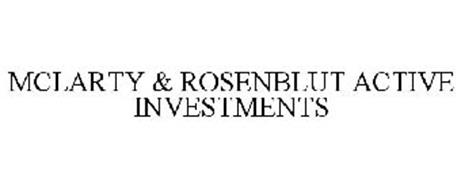 MCLARTY & ROSENBLUT ACTIVE INVESTMENTS