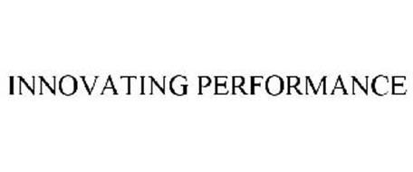 INNOVATING PERFORMANCE