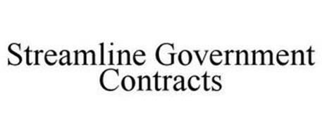 STREAMLINE GOVERNMENT CONTRACTS