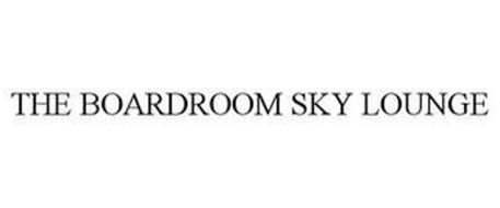 THE BOARDROOM SKY LOUNGE