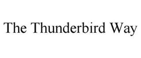 THE THUNDERBIRD WAY