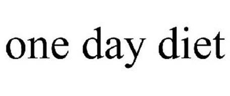 ONE DAY DIET