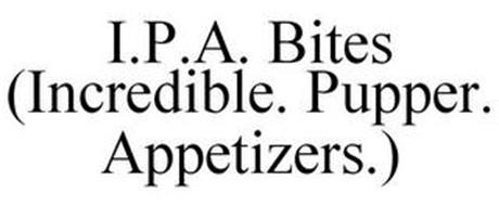 I.P.A. BITES (INCREDIBLE. PUPPER. APPETIZERS.)
