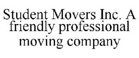 STUDENT MOVERS INC. A FRIENDLY PROFESSIONAL MOVING COMPANY