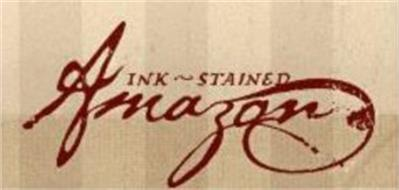INK-STAINED AMAZON