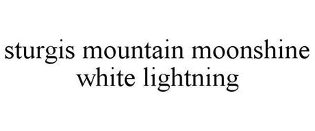 STURGIS MOUNTAIN MOONSHINE WHITE LIGHTNING