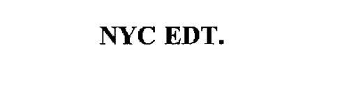 NYC EDT.