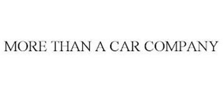 MORE THAN A CAR COMPANY