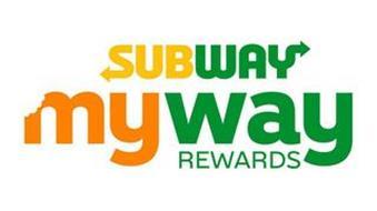 SUBWAY MYWAY REWARDS
