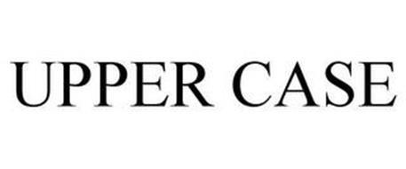 UPPER CASE