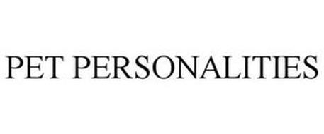 PET PERSONALITIES