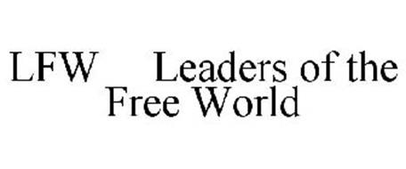 LFW LEADERS OF THE FREE WORLD