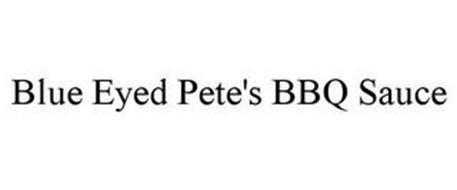 BLUE EYED PETE'S BBQ SAUCE