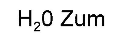 H20 ZUM