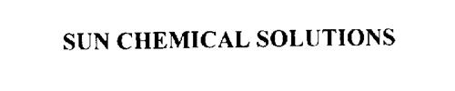 SUN CHEMICAL SOLUTIONS