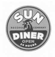 SUN RECORD COMPANY DINER OPEN 24 HOURS