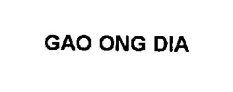 GAO ONG DIA