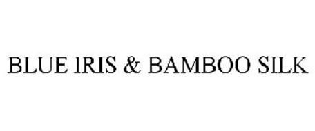 BLUE IRIS & BAMBOO SILK