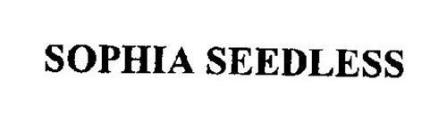 sophia seedless trademark of sun world international llc