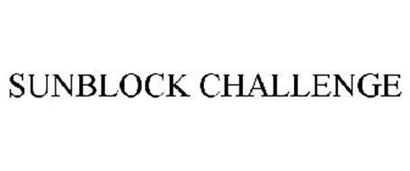 SUNBLOCK CHALLENGE