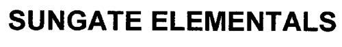 SUNGATE ELEMENTALS