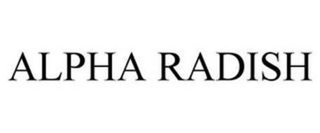 ALPHA RADISH