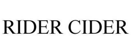 RIDER CIDER