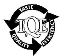 TQE TASTE QUALITY EFFICIENCY