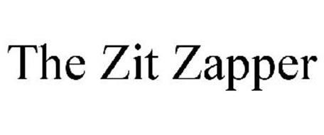 THE ZIT ZAPPER
