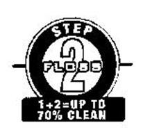 STEP 2 FLOSS 1 + 2 = UP TO 70% CLEAN