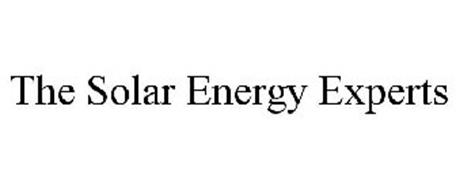 THE SOLAR ENERGY EXPERTS