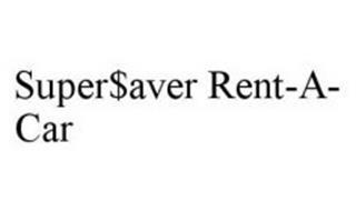 SUPER$AVER RENT-A-CAR