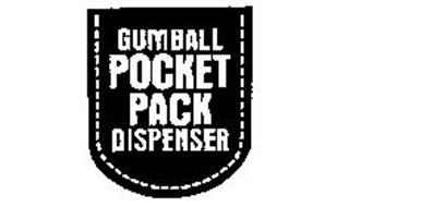 GUMBALL POCKET PACK DISPENSER