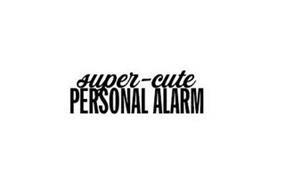 SUPER-CUTE PERSONAL ALARM