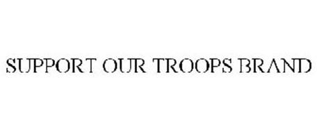 SUPPORT OUR TROOPS BRAND