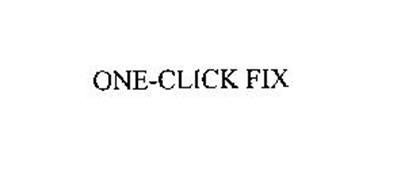 ONE-CLICK FIX