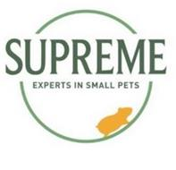 SUPREME EXPERTS IN SMALL PETS