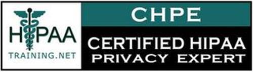 HIPAA TRAINING.NET CHPE CERTIFIED HIPAA PRIVACY EXPERT