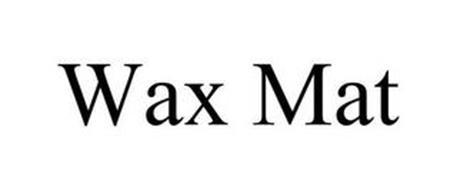 WAX MAT
