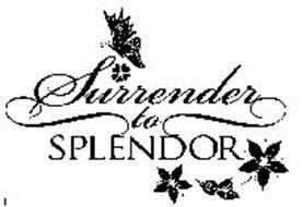 SURRENDER TO SPLENDOR